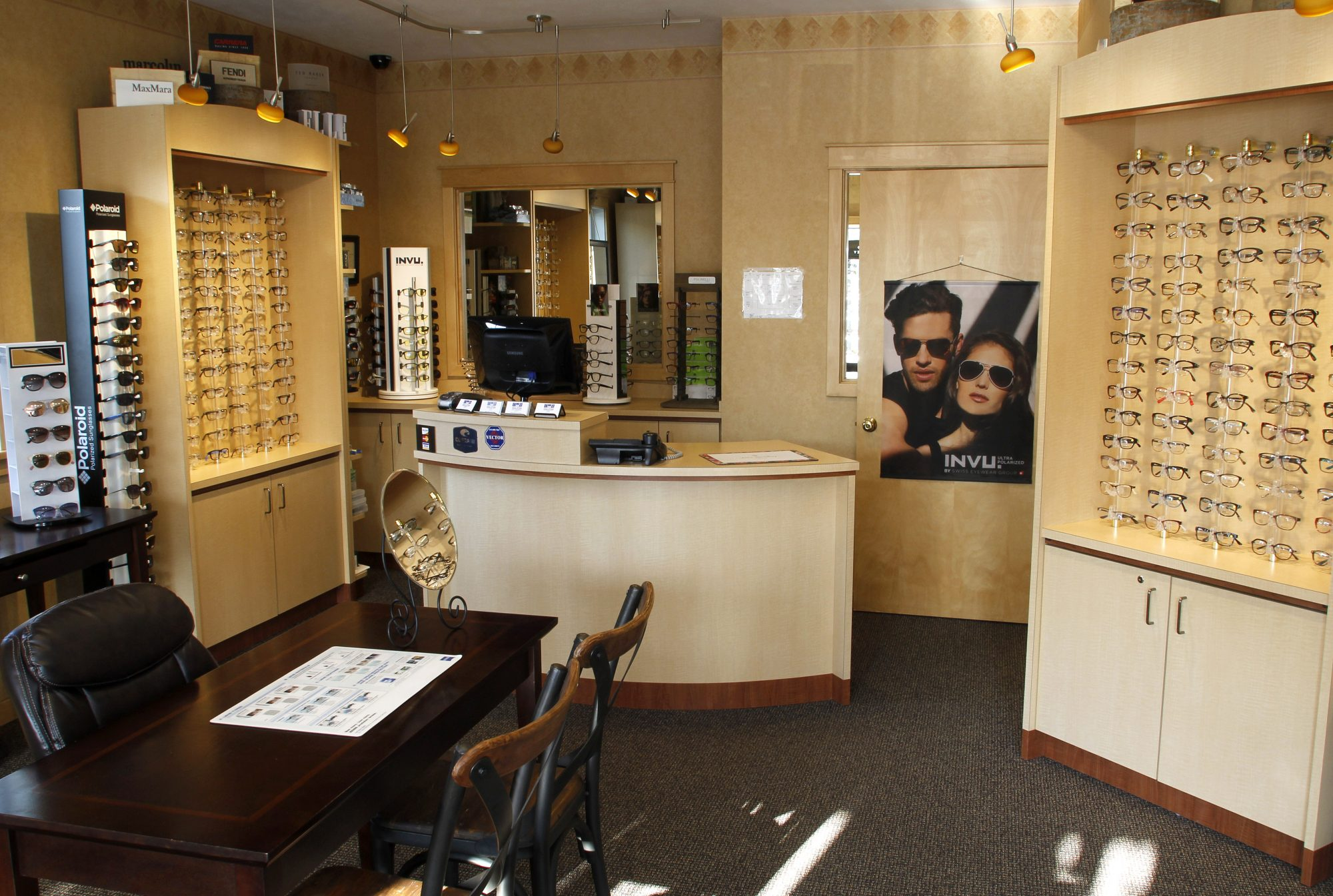 Designer Frames, Sunglasses, and Contact Lenses